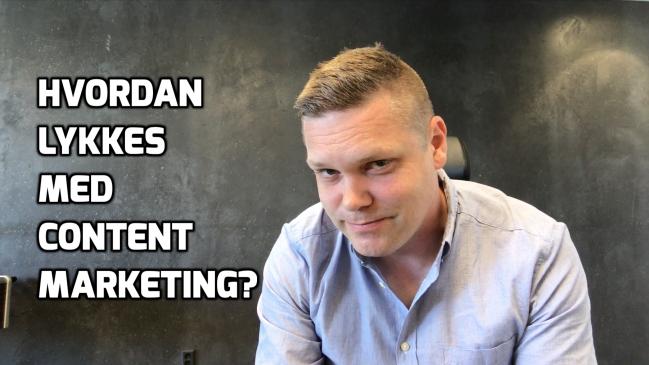 Hvordan lykkes med content marketing?
