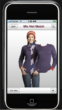 gap-born-to-fit-iphone-app